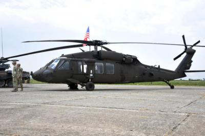 The appearance of the stealth modification of the UH-60 Black Hawk helicopter has been declassified